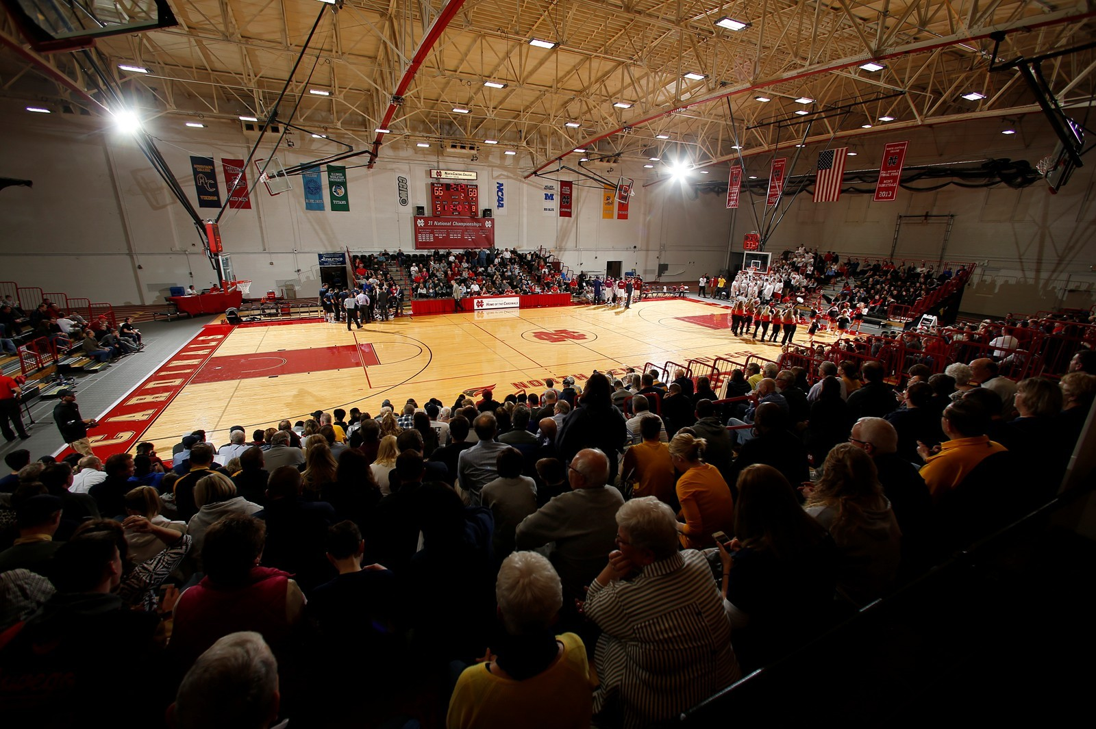 Basketball Exhibitions to Benefit Red Cross - North Central