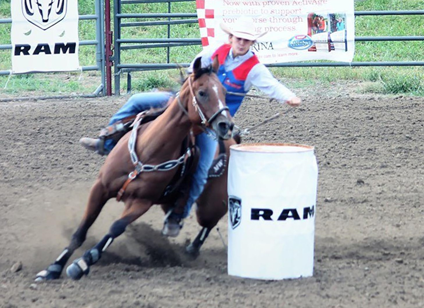 Williamson Cards Sixth Place Finish In Second Fall Rodeo
