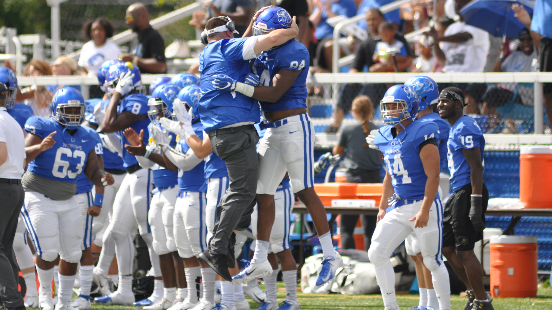 Falcons Soar To No 17 In Rankings Notre Dame College Athletics