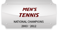 Men's Tennis National Champions 2003, 2012