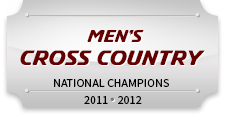 Men's Cross Country National Champions 2011, 2012