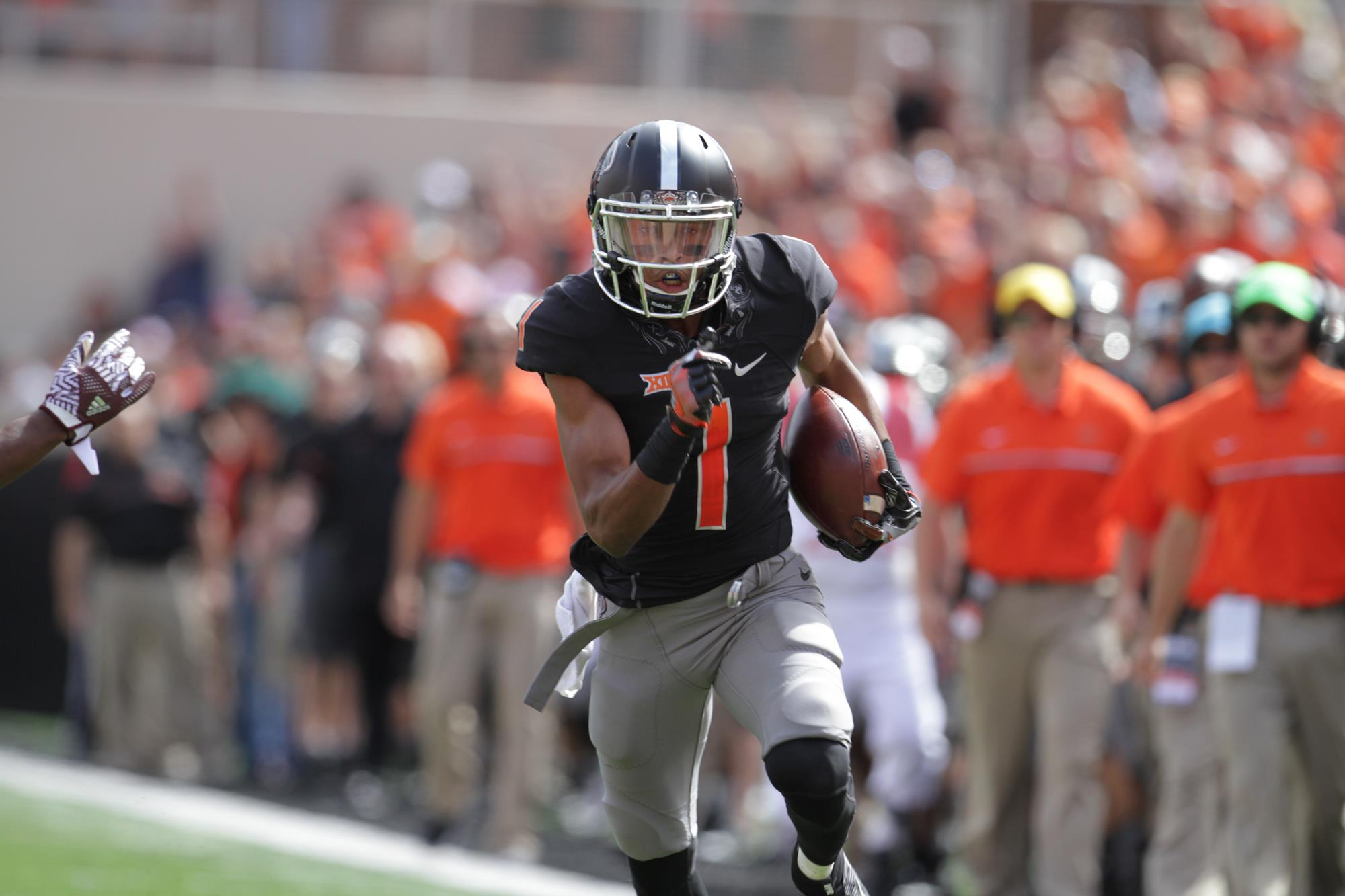 c992ec0e662 Jalen McCleskey - 2017 - Football - Oklahoma State University Athletics