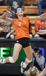 Volleyball Comes up Short against No. 4 Stanford