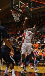 Oregon State Overwhelms Cal, 80-64