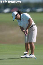 Women's Golf Stands in 15th Two Rounds in South Carolina