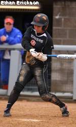 Cavestany Leads Softball Slug Fest Win over No. 8 Stanford