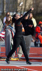 Throwers Lead Way For Track & Field At John Knight Twilight