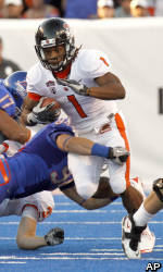 No. 24 Oregon State Comes Up Short Against No. 3 Boise State