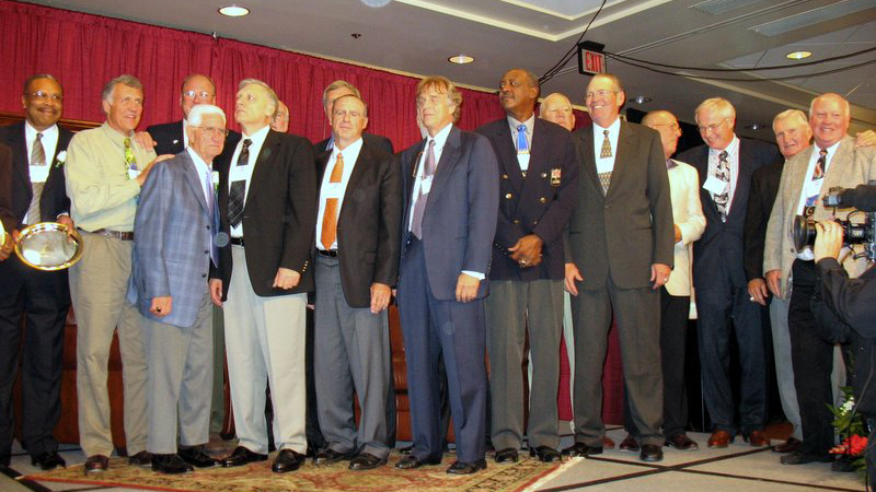 1965-66 Team At Oregon Sports Hall of Fame