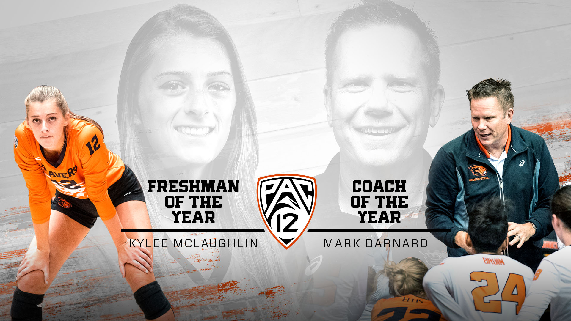 McLaughlin, Barnard Pac-12 Awards