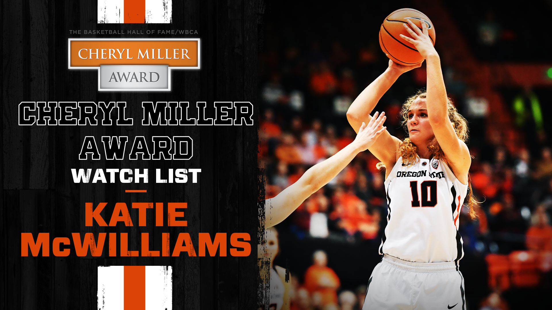 mcwilliams named to miller award watch list - oregon state