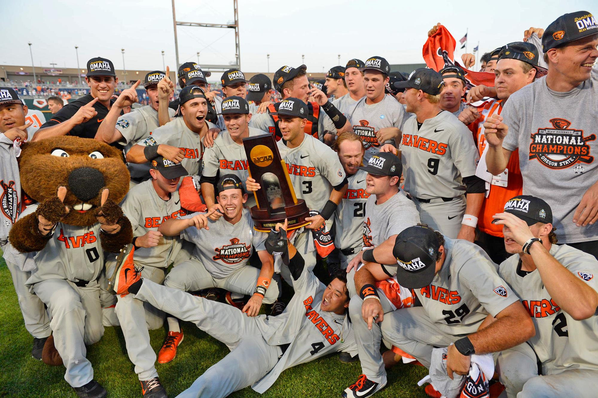 oregon state wins college world series oregon state university
