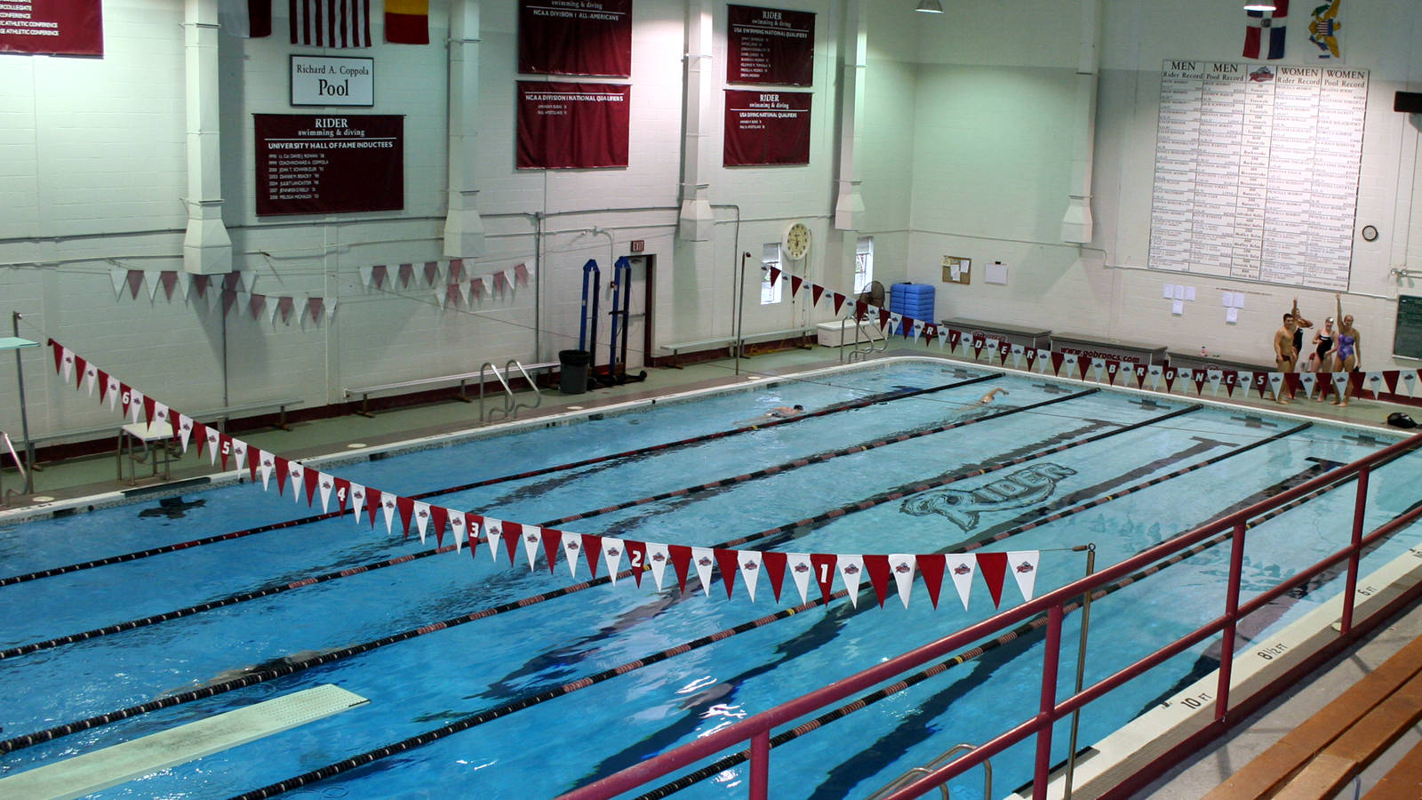 Coppola Pool Rider University Athletics