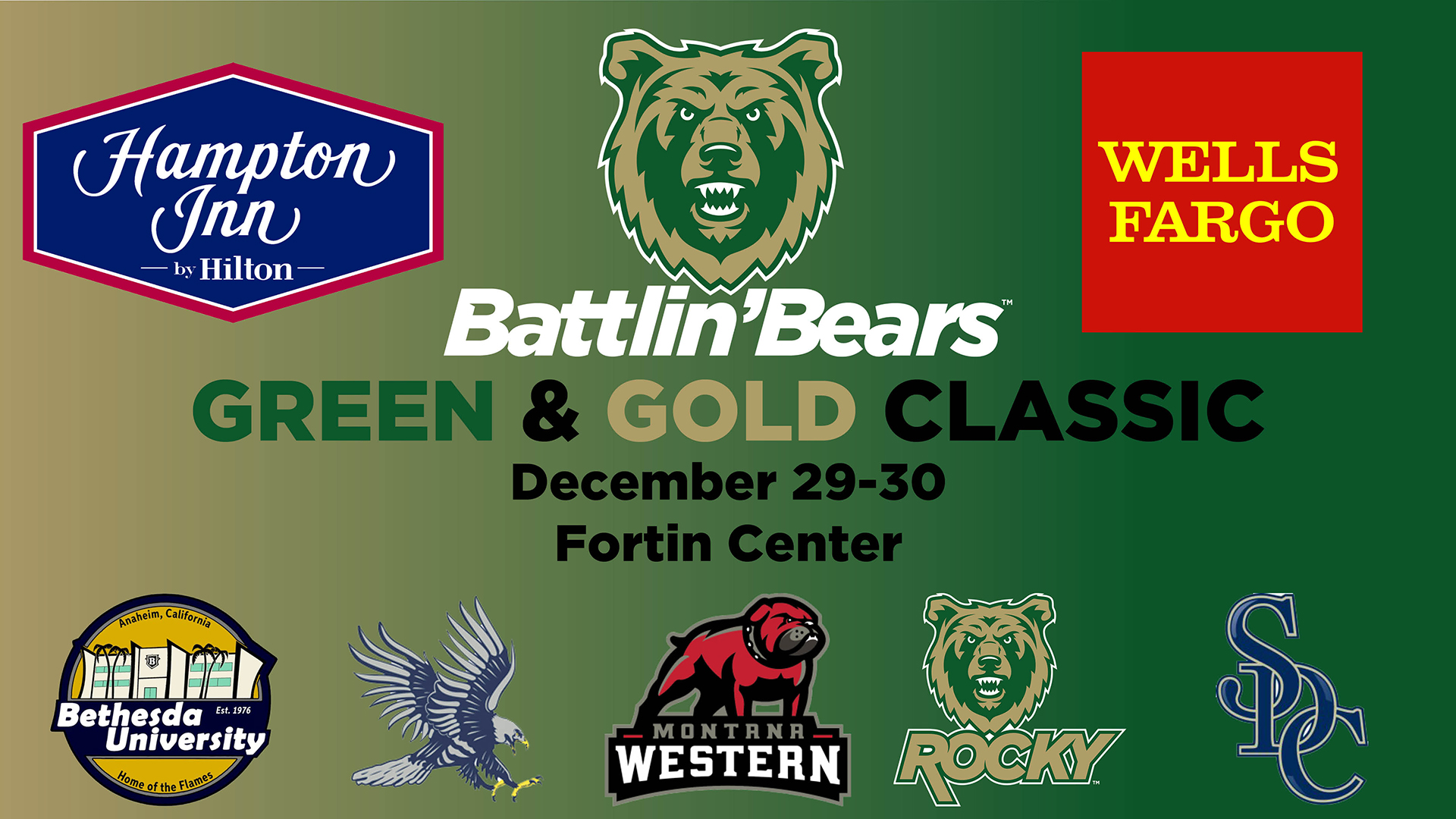 Changes Made To Hampton Inn Wells Fargo Green Gold Classic