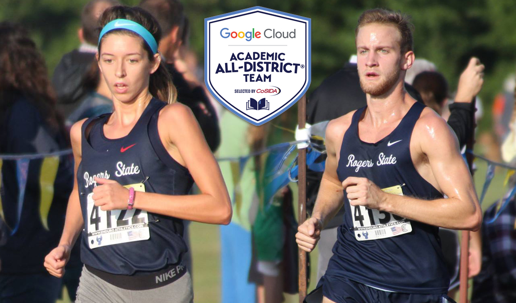Gillispie And Harvey Named To Google Cloud Academic All District