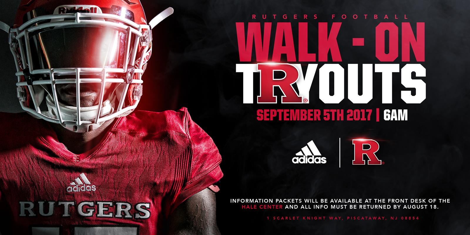 football to hold walk on tryouts rutgers university athletics