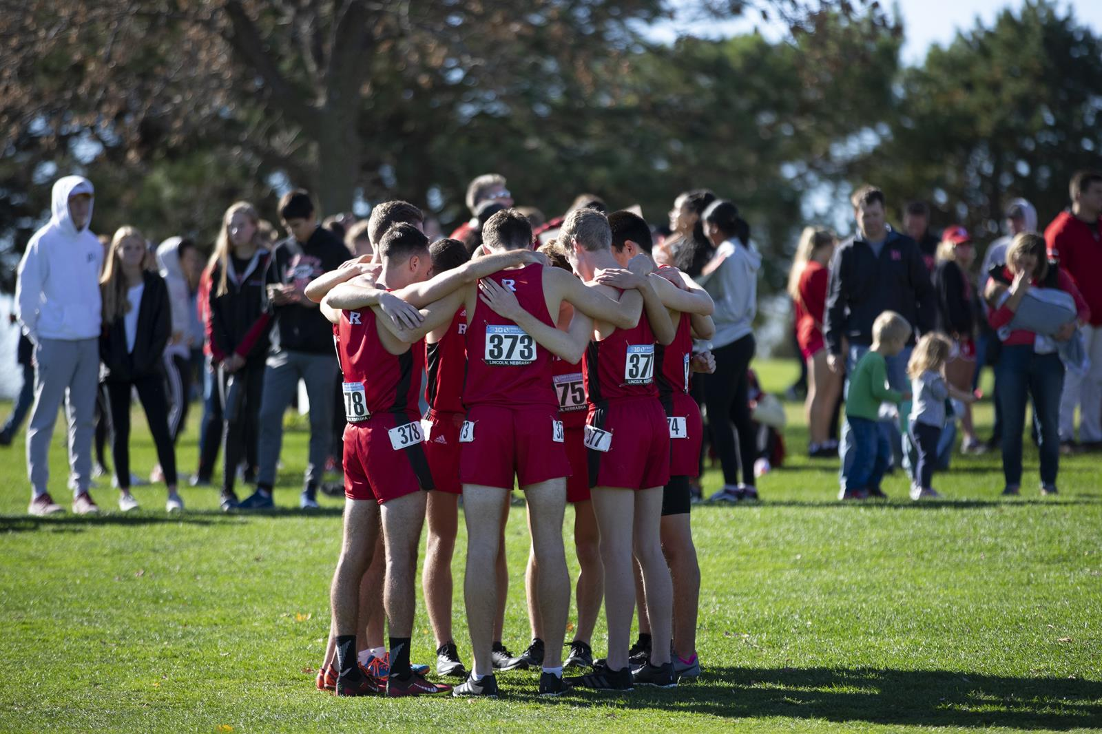 Men's Cross Country Team