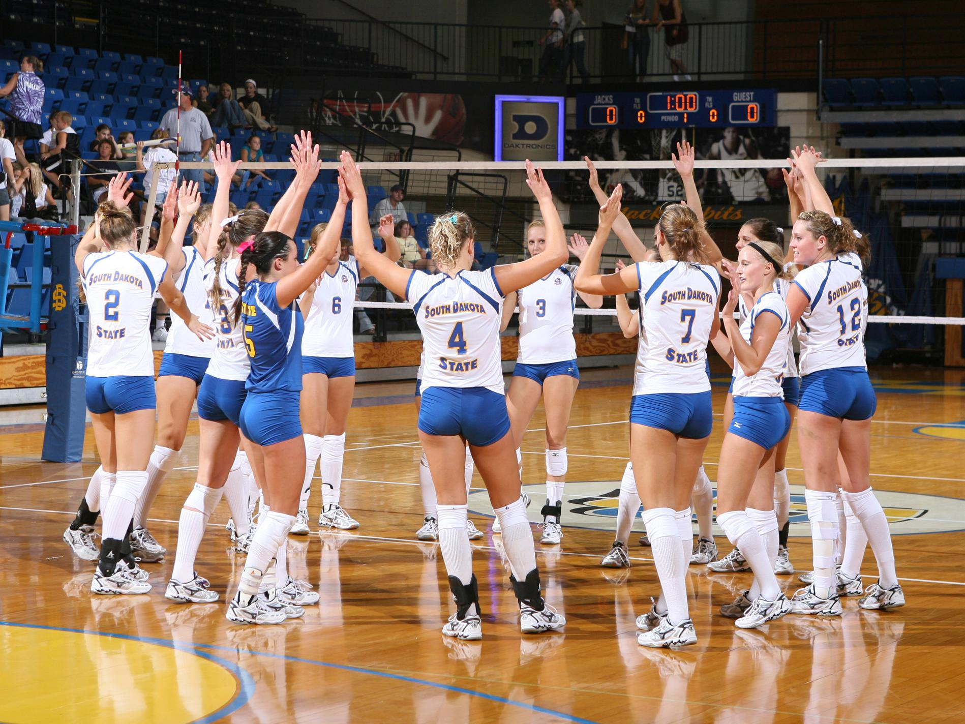 South Dakota State Athletics - SDSU volleyball team earns ...