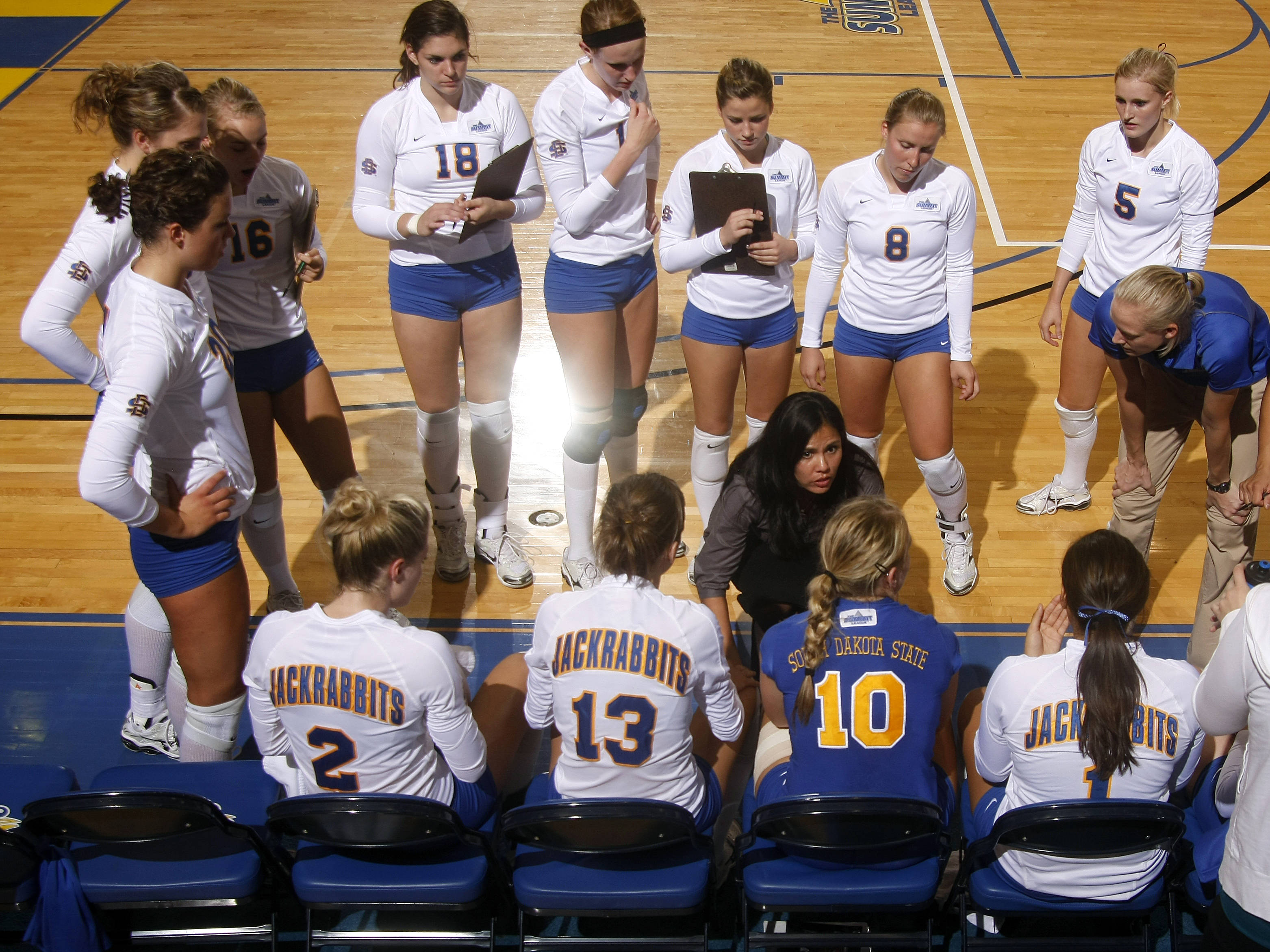 South Dakota State Athletics - Jackrabbit volleyball hosts ...