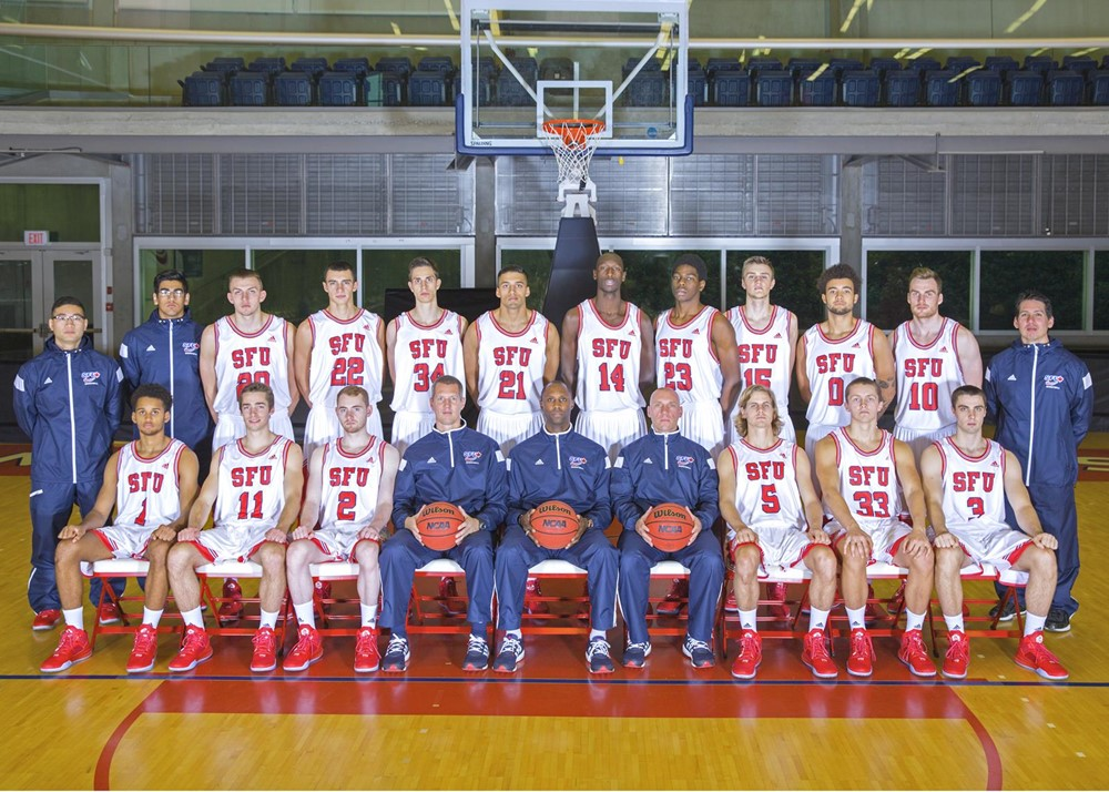 Simon Fraser University | Canada 2015-16 Men's Basketball
