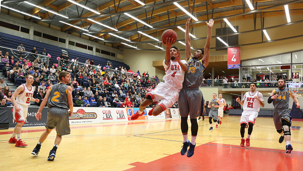 Simon Fraser University | Canada MSUB Spoils Return Of Top ...