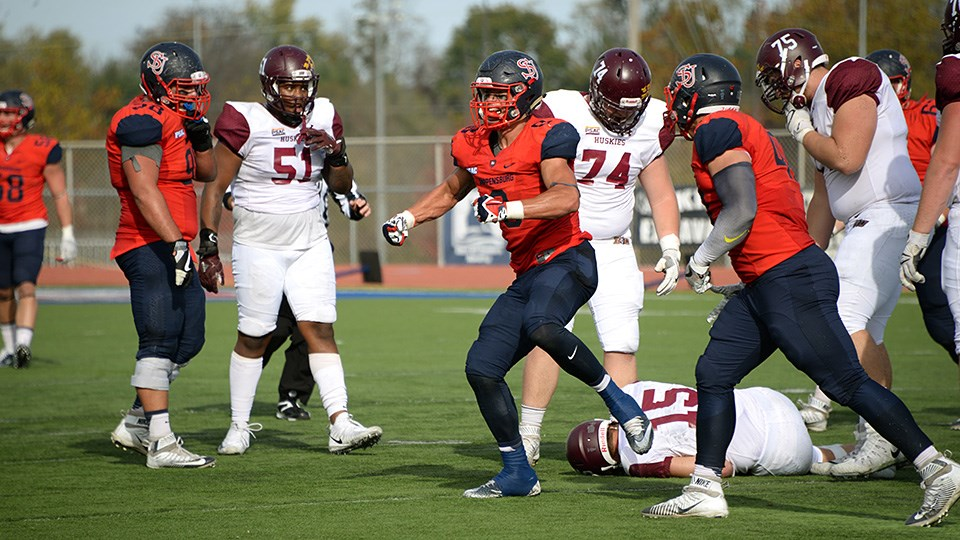 Shippensburg University Athletics Football Uses First Quarter