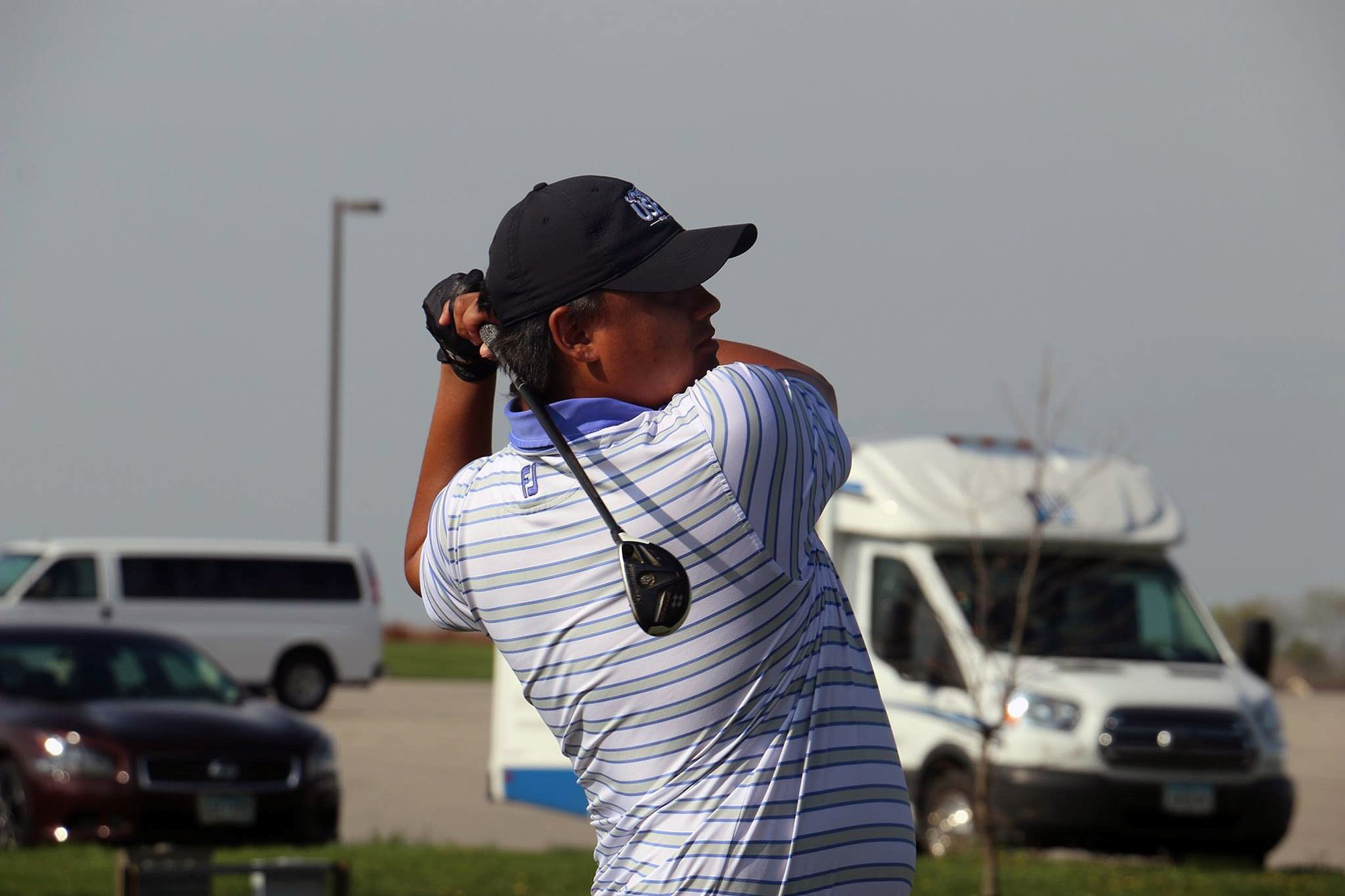 74e4809116 Dillon and Korn lead USF Men s Golf into seventh after second round of NSIC  Championship