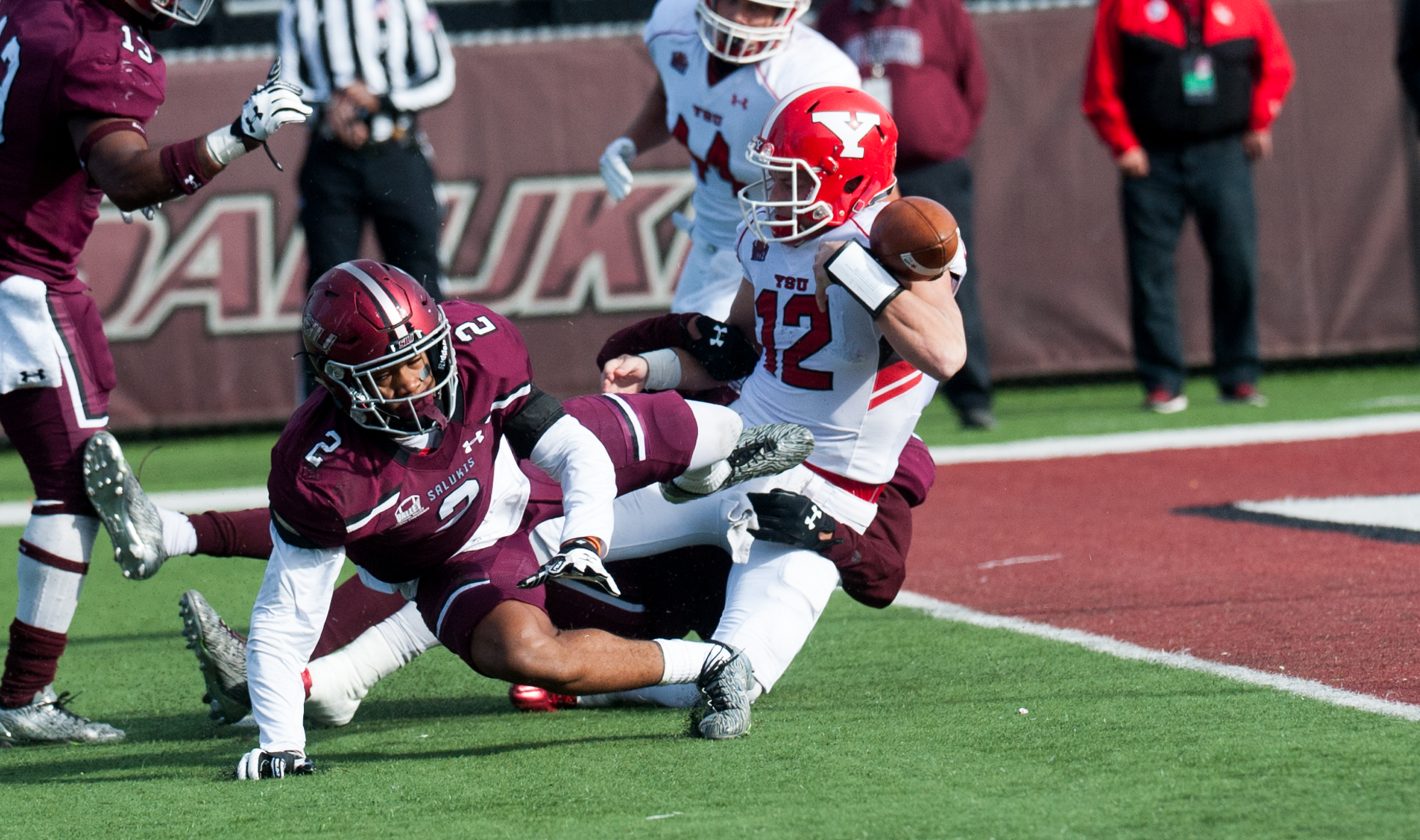 saluki football at youngstown state notes & links - southern