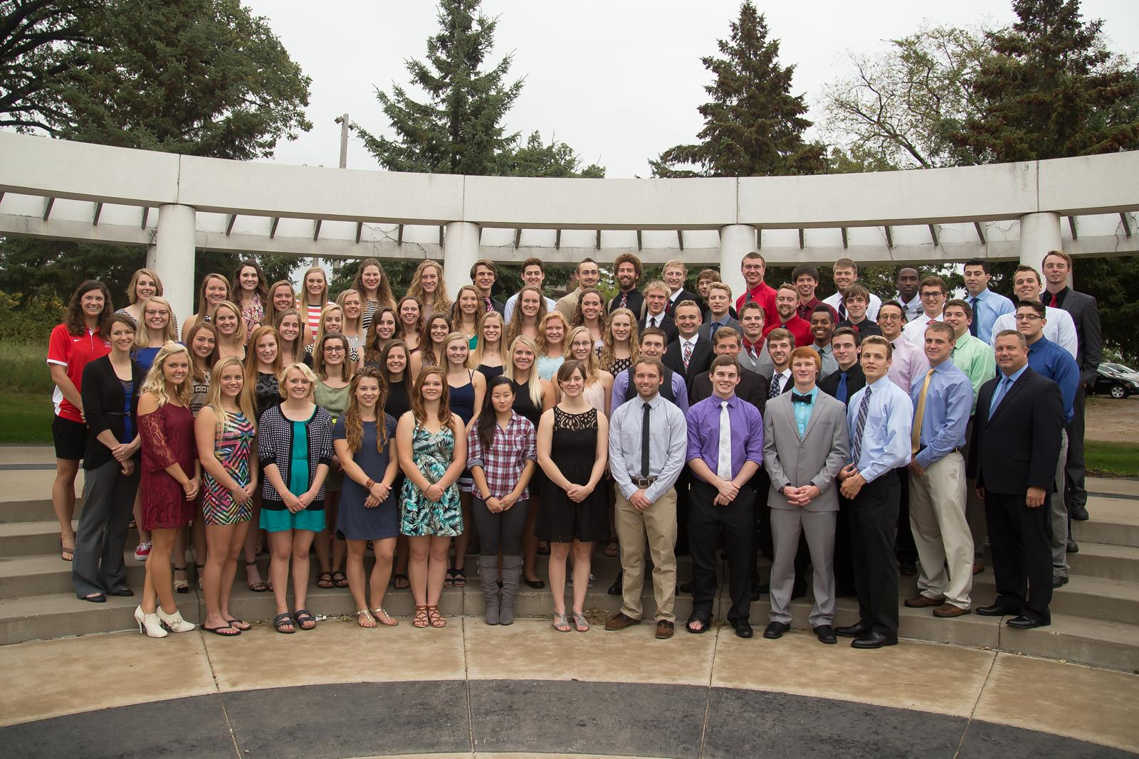 Scsu Swimming And Diving Places Second At Usd Meets St Cloud State University Athletics