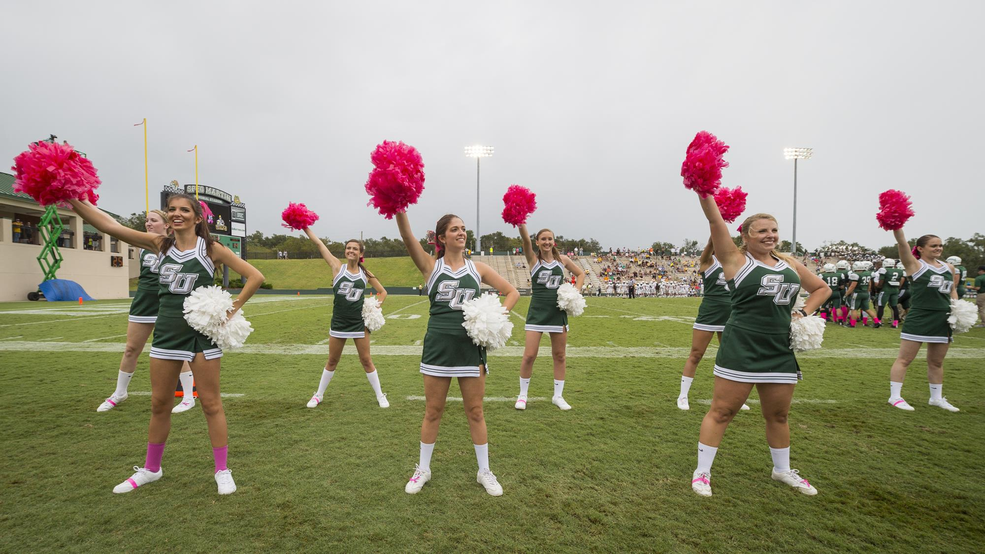 stetson cheer clinic stetson university athletics