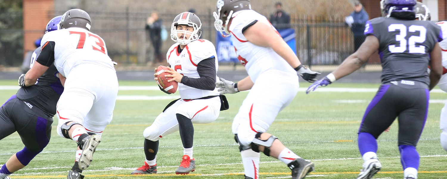 Football Falls Behind Early But Plays Tough Against Mount Union St