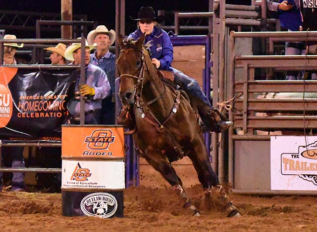 Stacey Bailey Rodeo Southwestern Oklahoma State