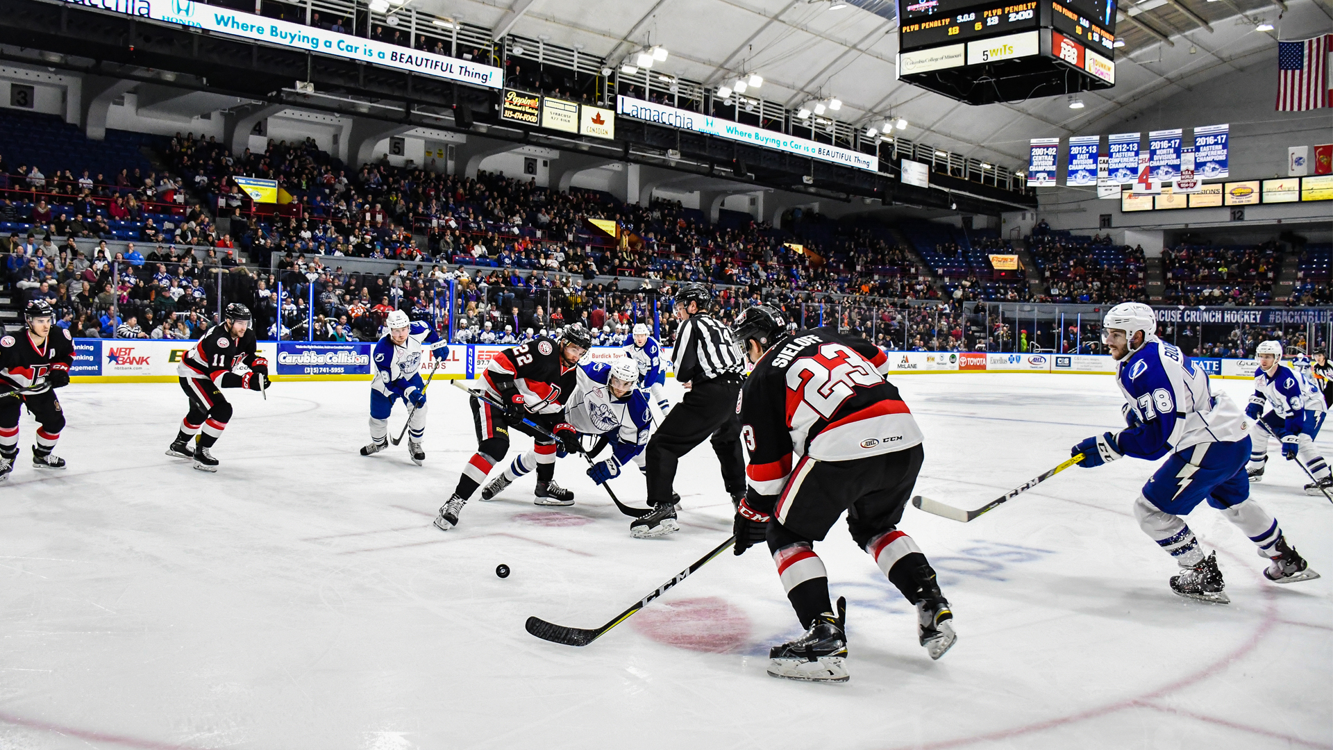 syracuse crunch to host 25th home opener oct. 13 - syracuse crunch