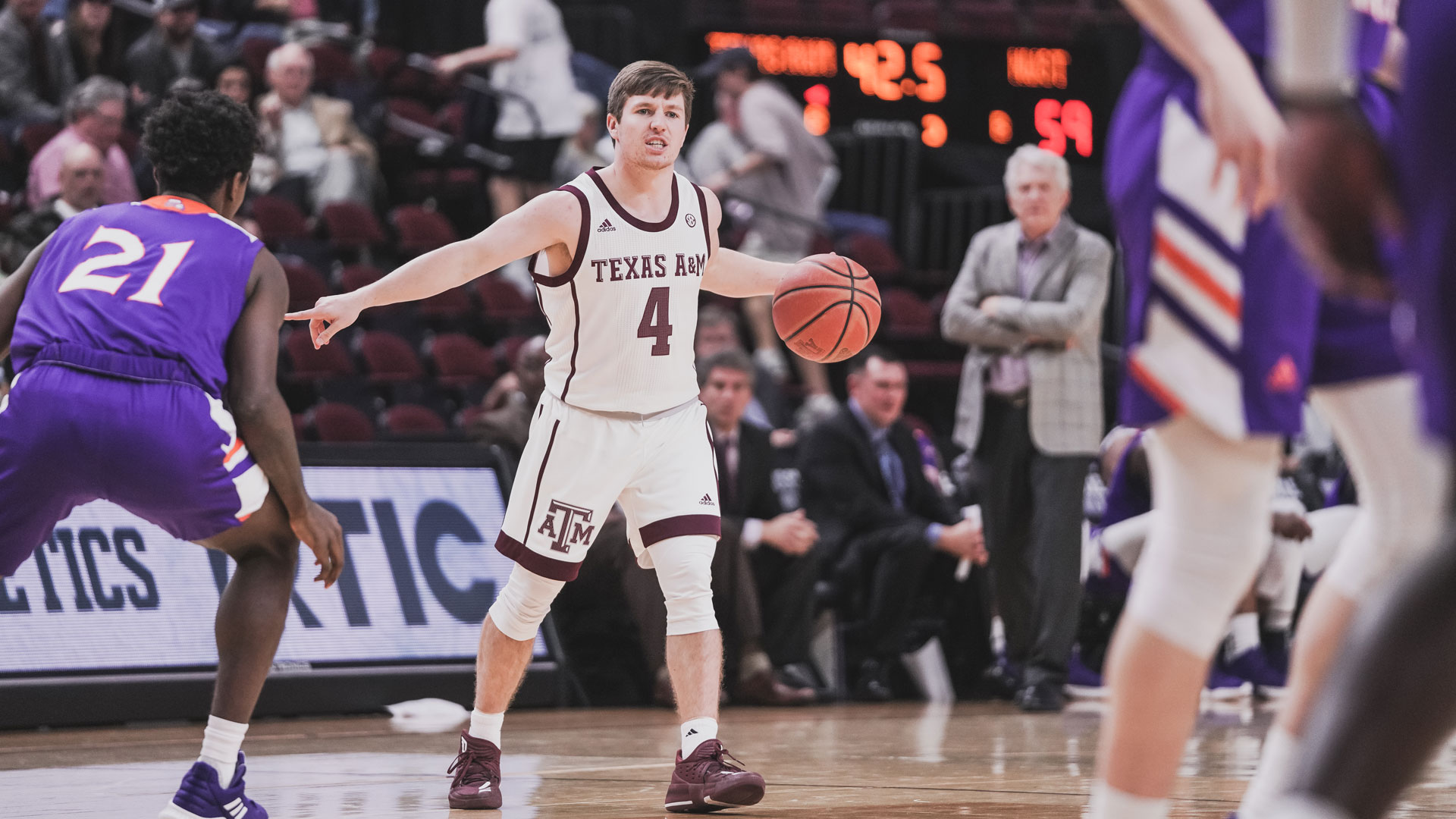 mark french - men's basketball - texas a&m university athletics