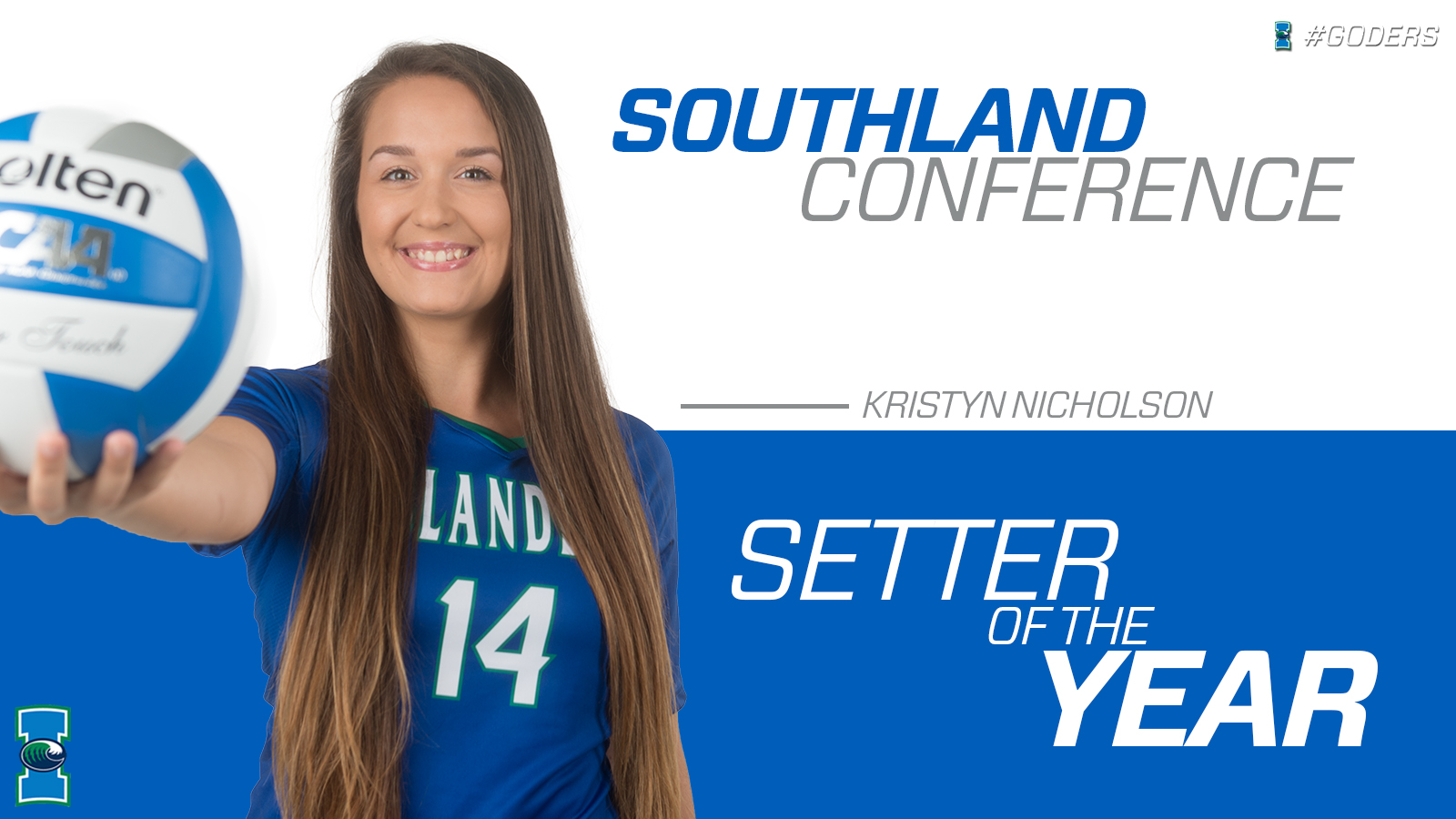 nicholson setter of the year gilpin first team texas a m corpus
