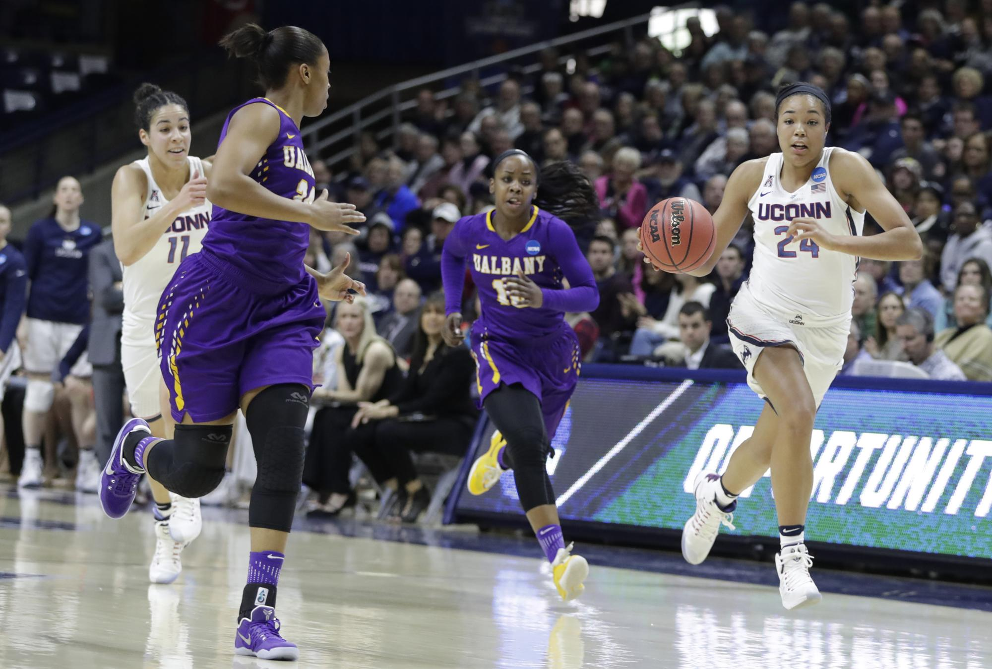 Uconn Duo Named To John R Wooden Award All American Team American