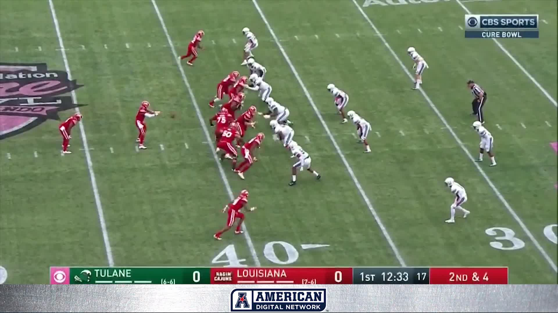 2170a02de 2018 American Football Highlights - AutoNation Cure Bowl Tulane 41