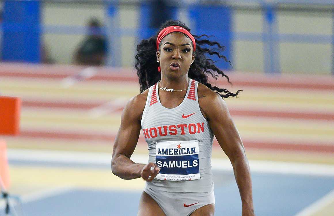 Houston Memphis Take Home Weekly Outdoor Track And Field Honors