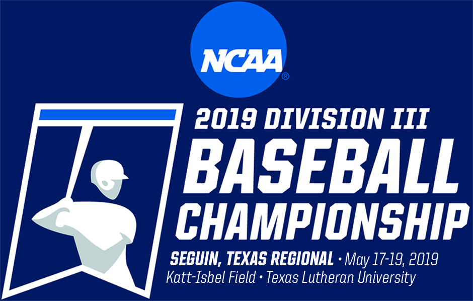 Map Of Texas Lutheran University.Texas Lutheran University 2019 Ncaa Diii Baseball Regional