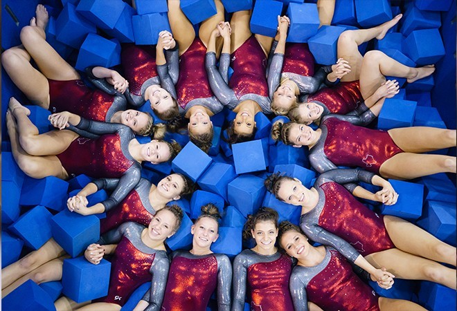Thirteen Pioneer Gymnasts Named Scholastic All Americans Texas
