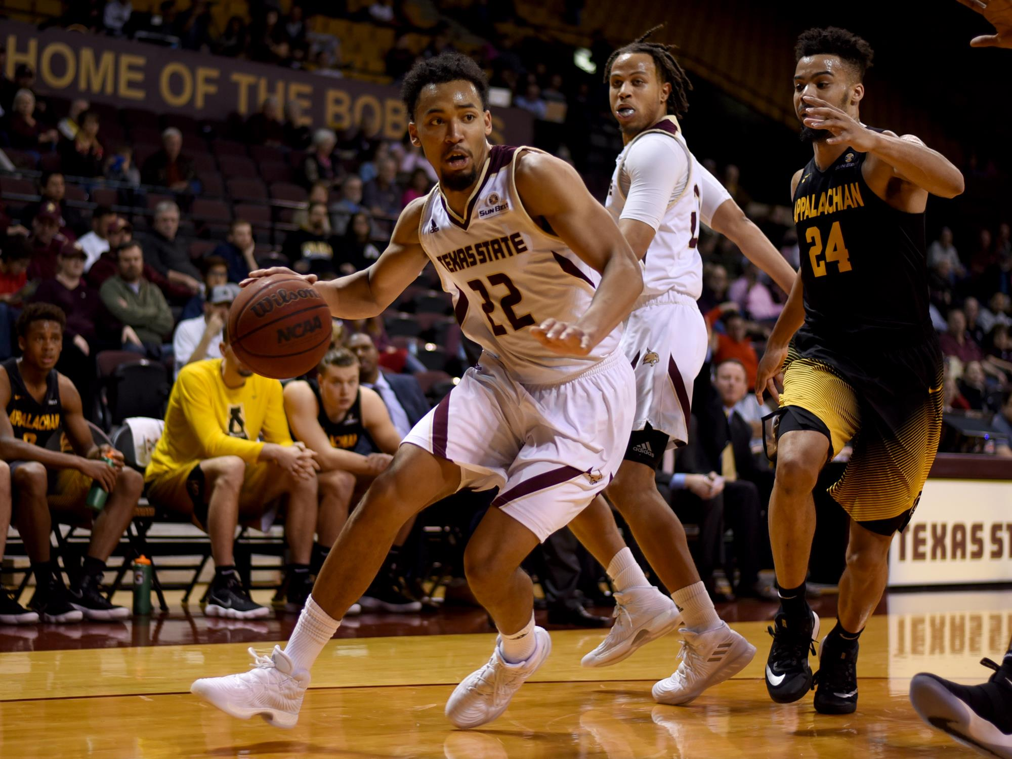 Nijal Pearson - 2016-2017 Men\'s Basketball Roster - Texas State