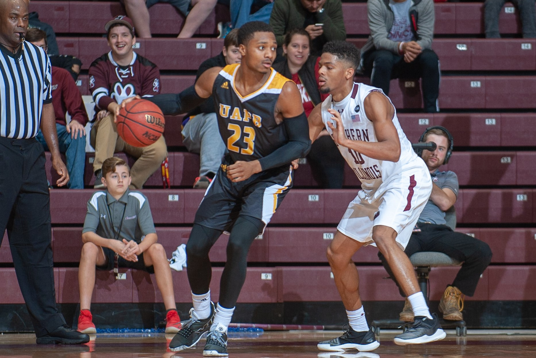 Martaveous McKnight scored a game-high 27 points in game two of the Las Vegas Invitational vs. Massachusetts.