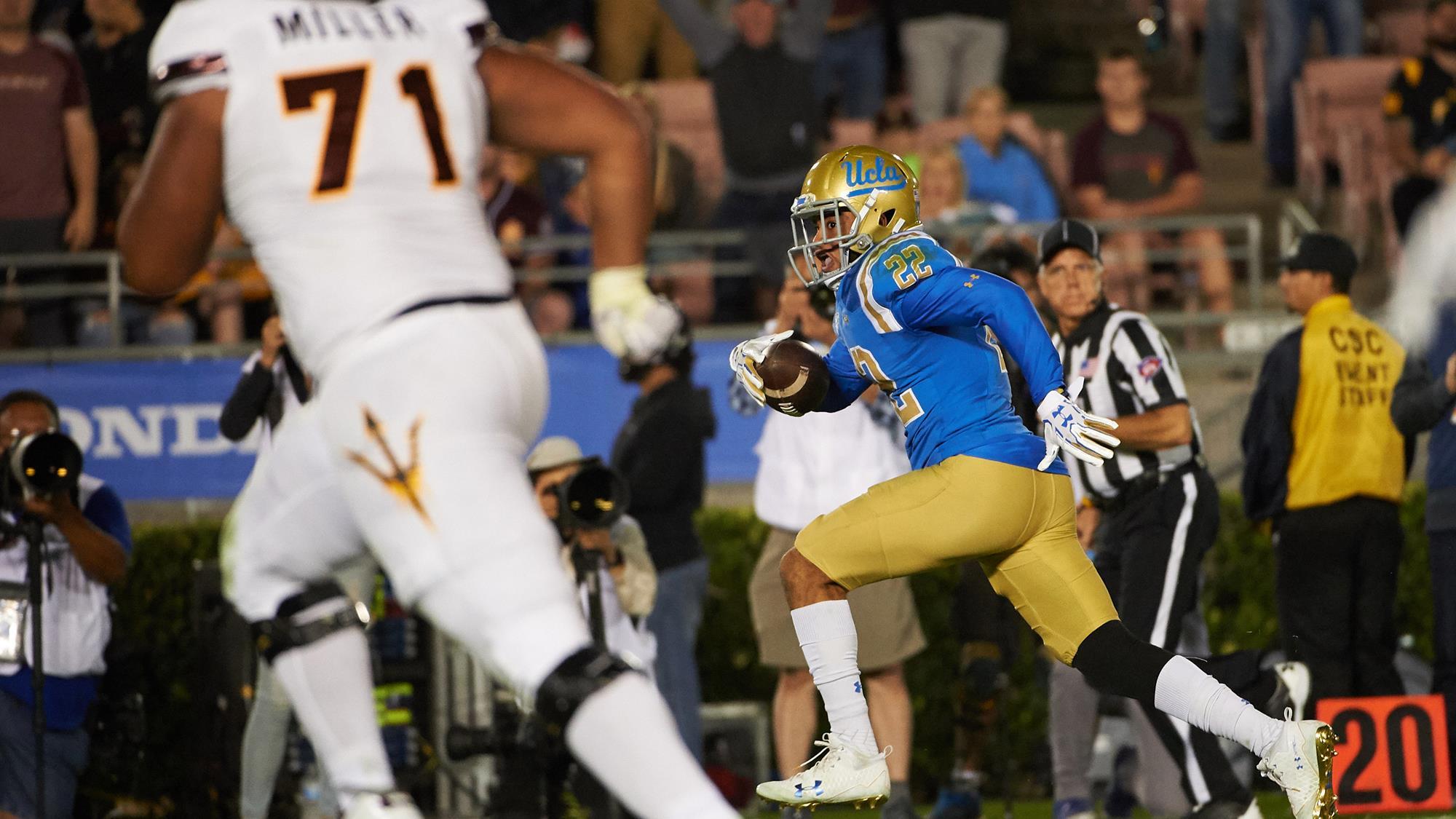 0ff7b8fda Nate Meadors - Football - UCLA