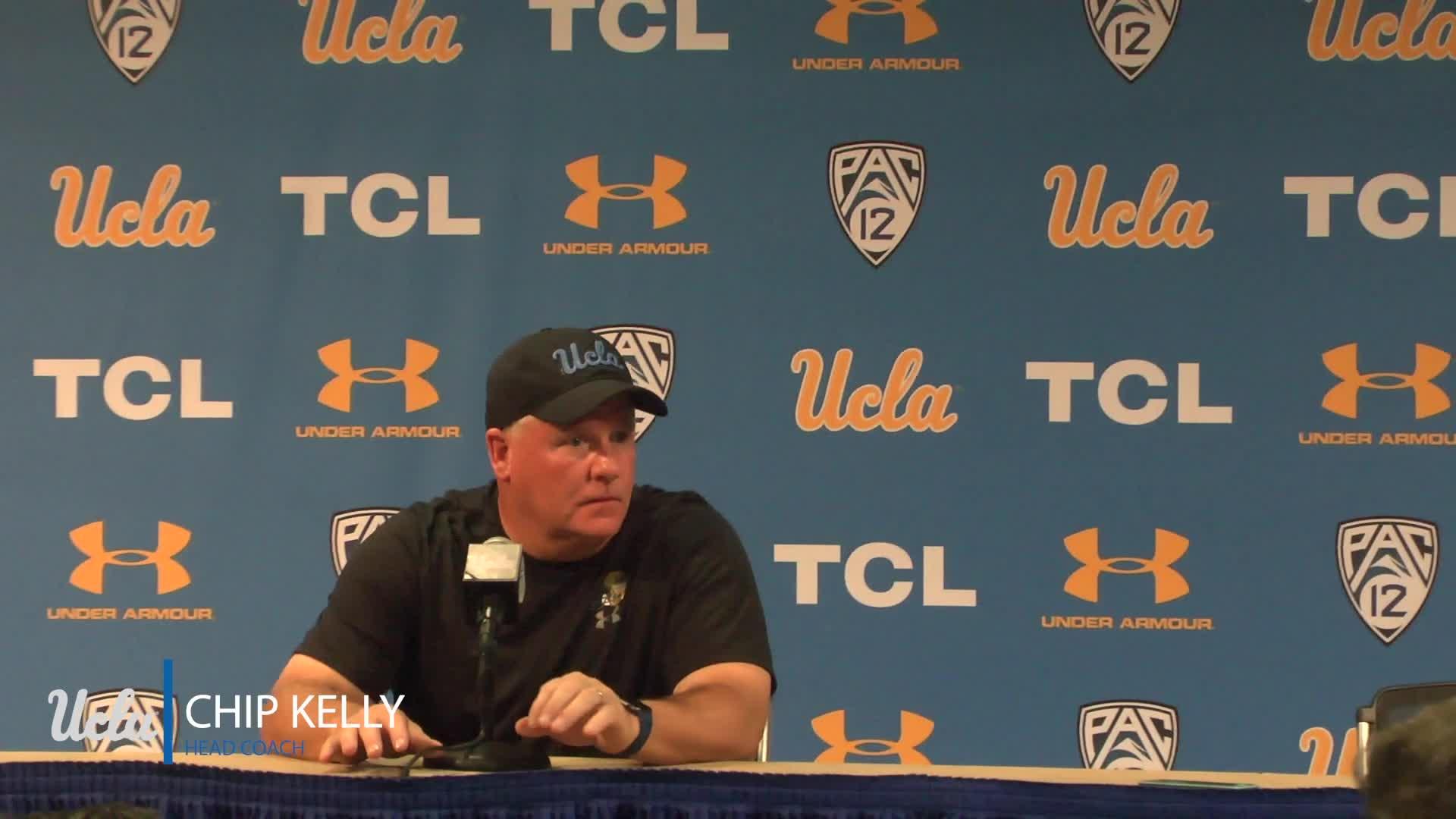UCLA Football Coach Kelly Postgame - 11.24.18