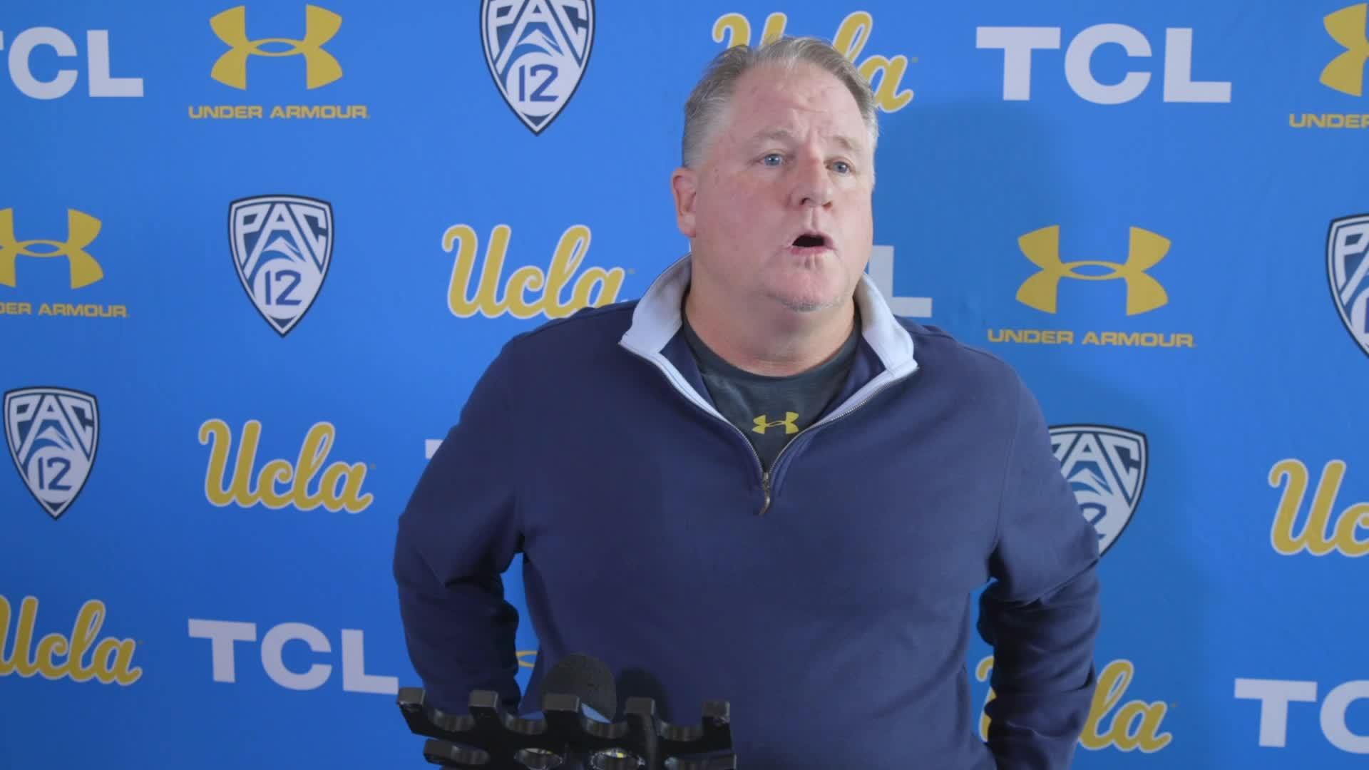 UCLA Football National Signing Day Media Availability - Chip Kelly - 12.19.18