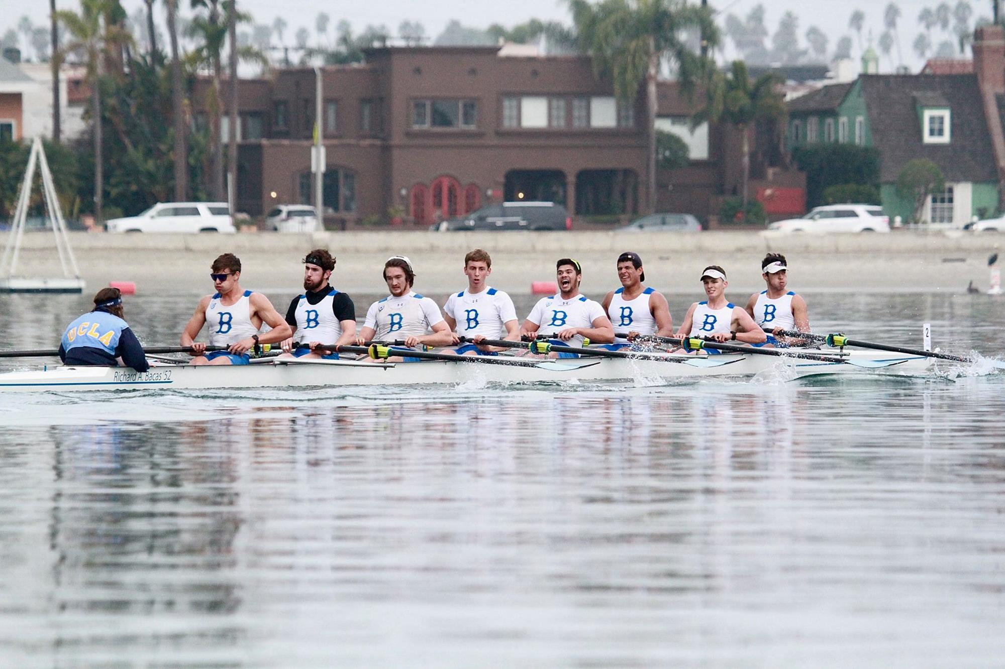 Varsity Eight at Long Beach State Duel