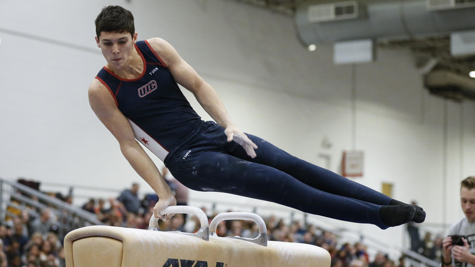Image result for uic men's gymnastics 2019