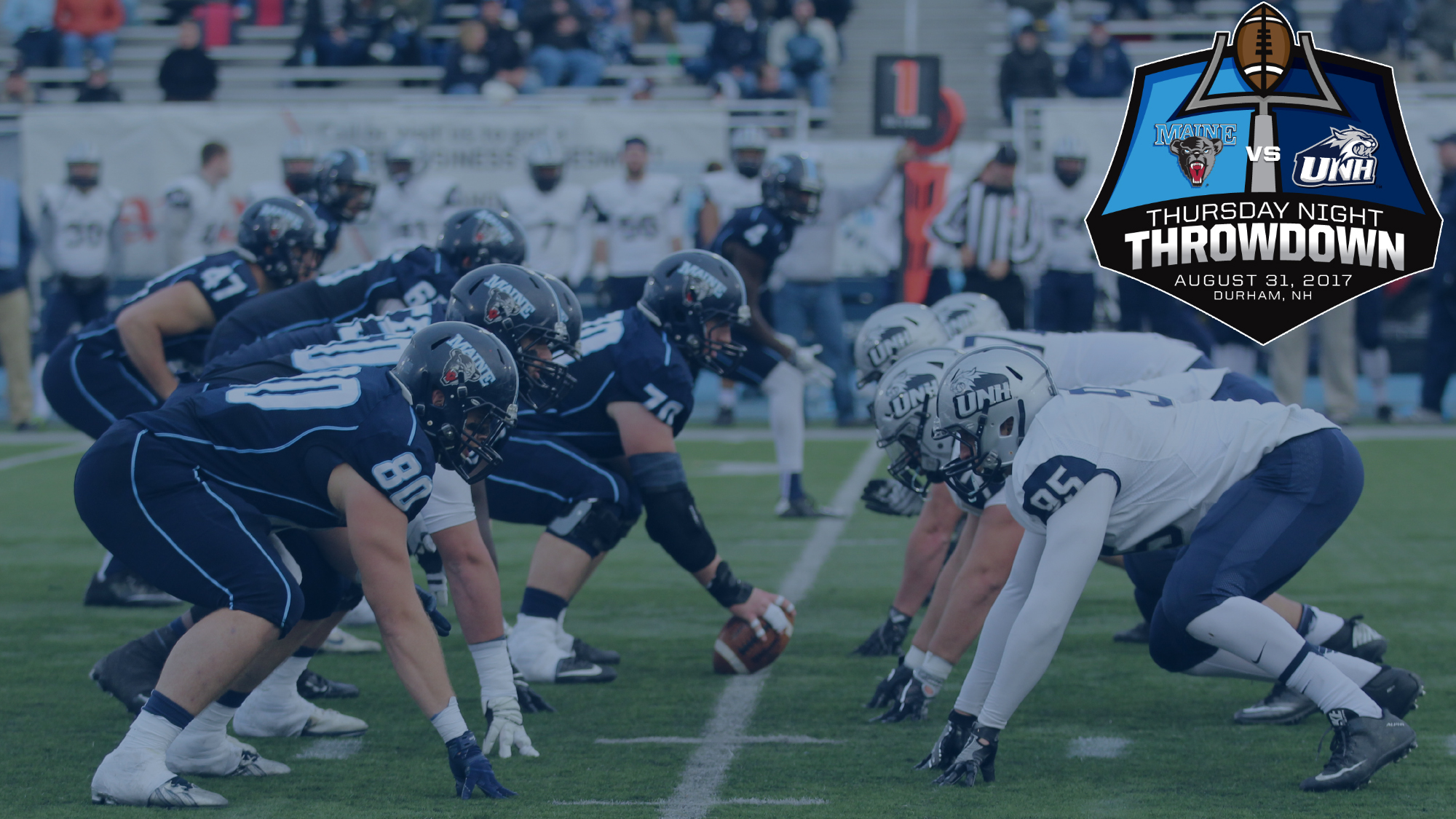 Maine Football To Kick Off 2017 In Thursday Night Throwdown At