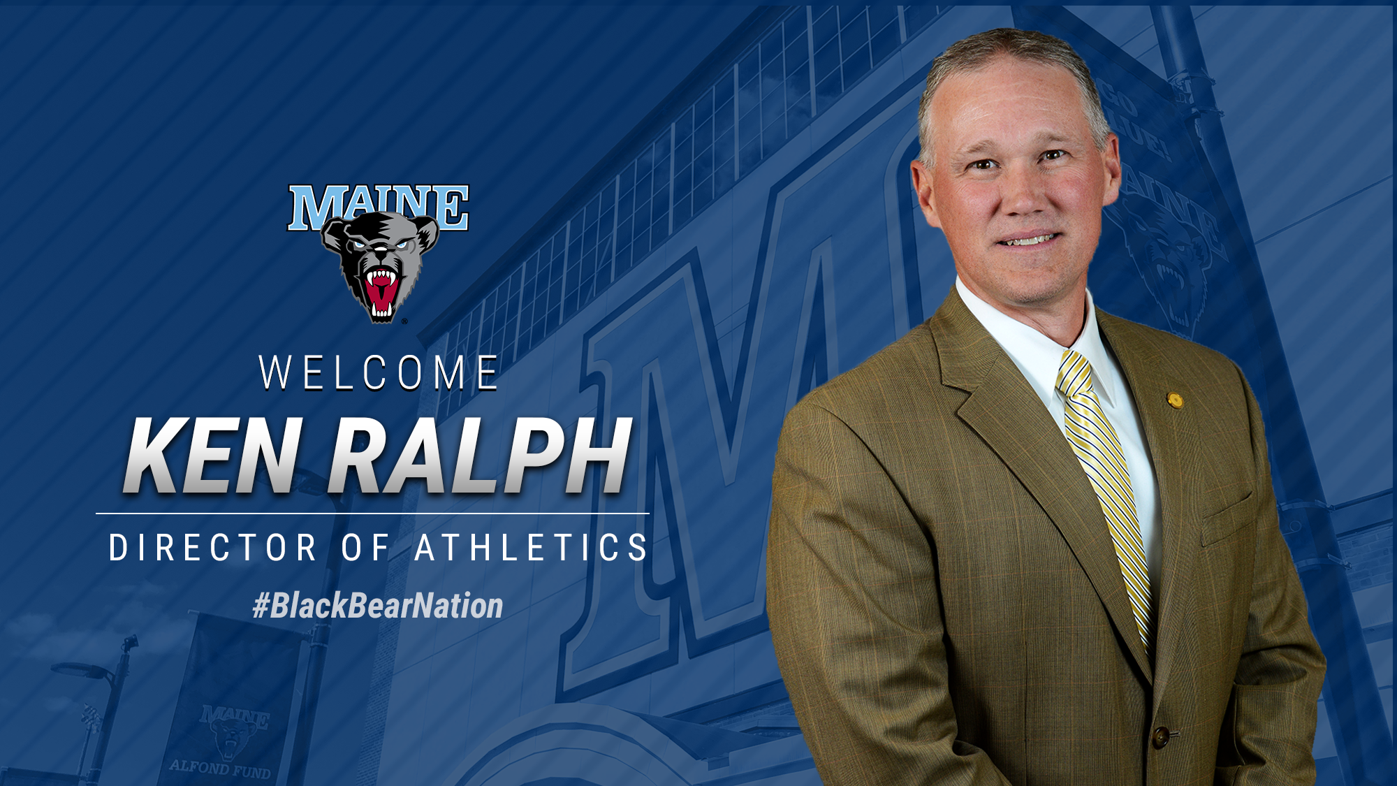 Ken Ralph named UMaine Director of Athletics - University ...