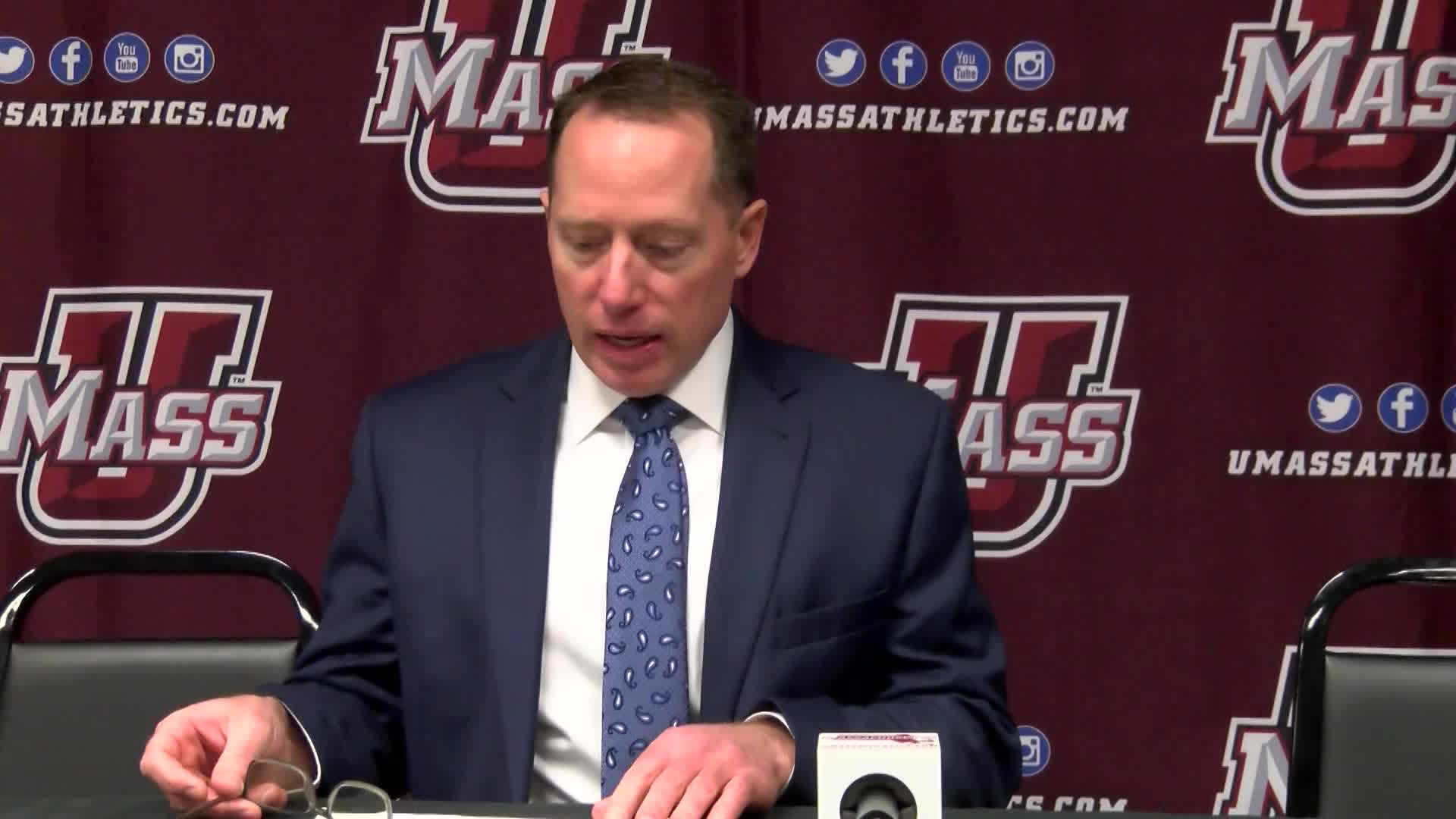 Hockey vs. Vermont Press Conference (01/12/19)